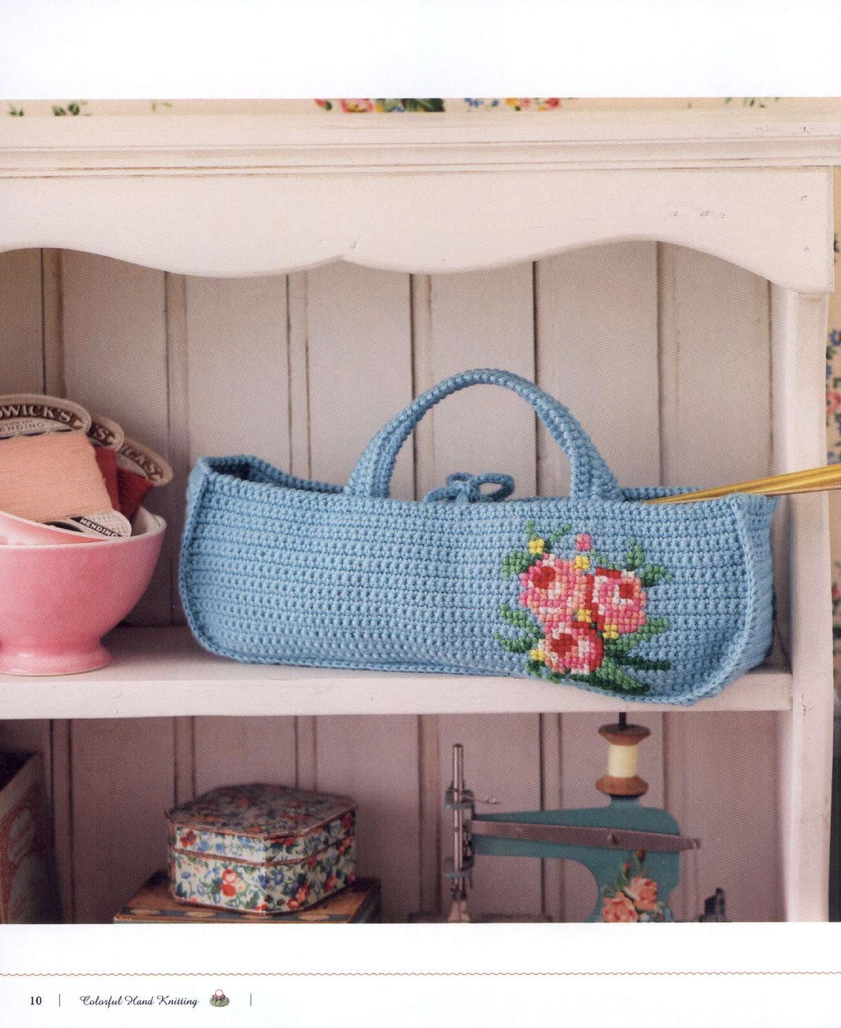 ISSUU - Crochet pretty color by vlinderieke