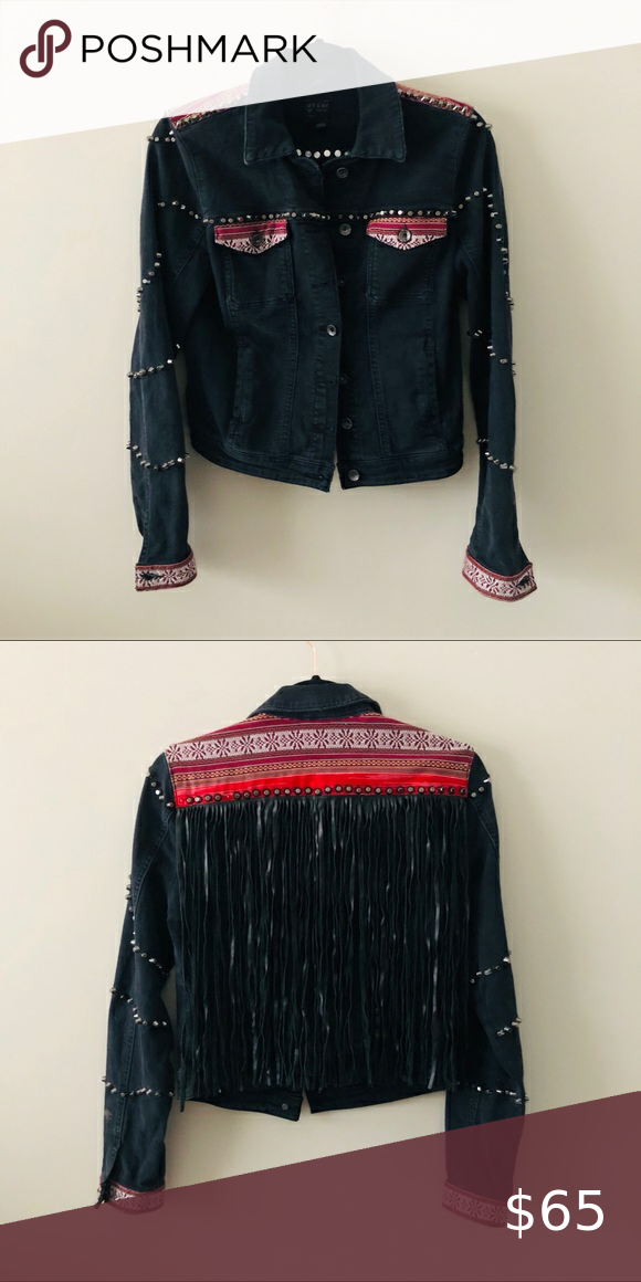 GUESS fringe jacket Only worn a few times great condition Guess Jackets  Coats GUESS fringe jacket Only worn a few times great condition Guess Jackets  Coats