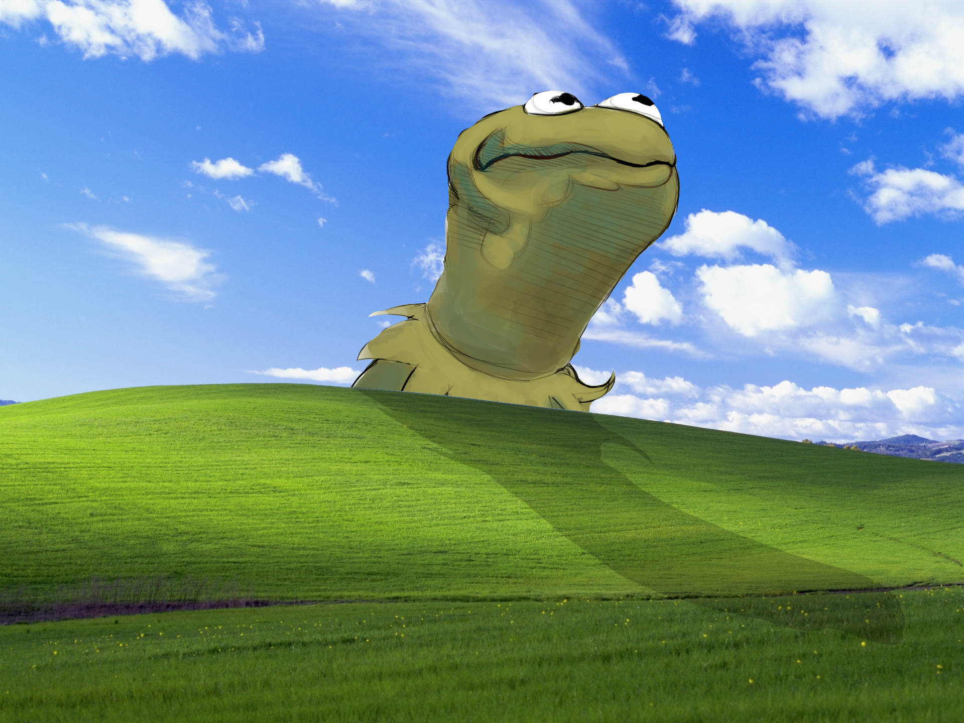 This is my new favorite wallpaper     Bliss Windows XP