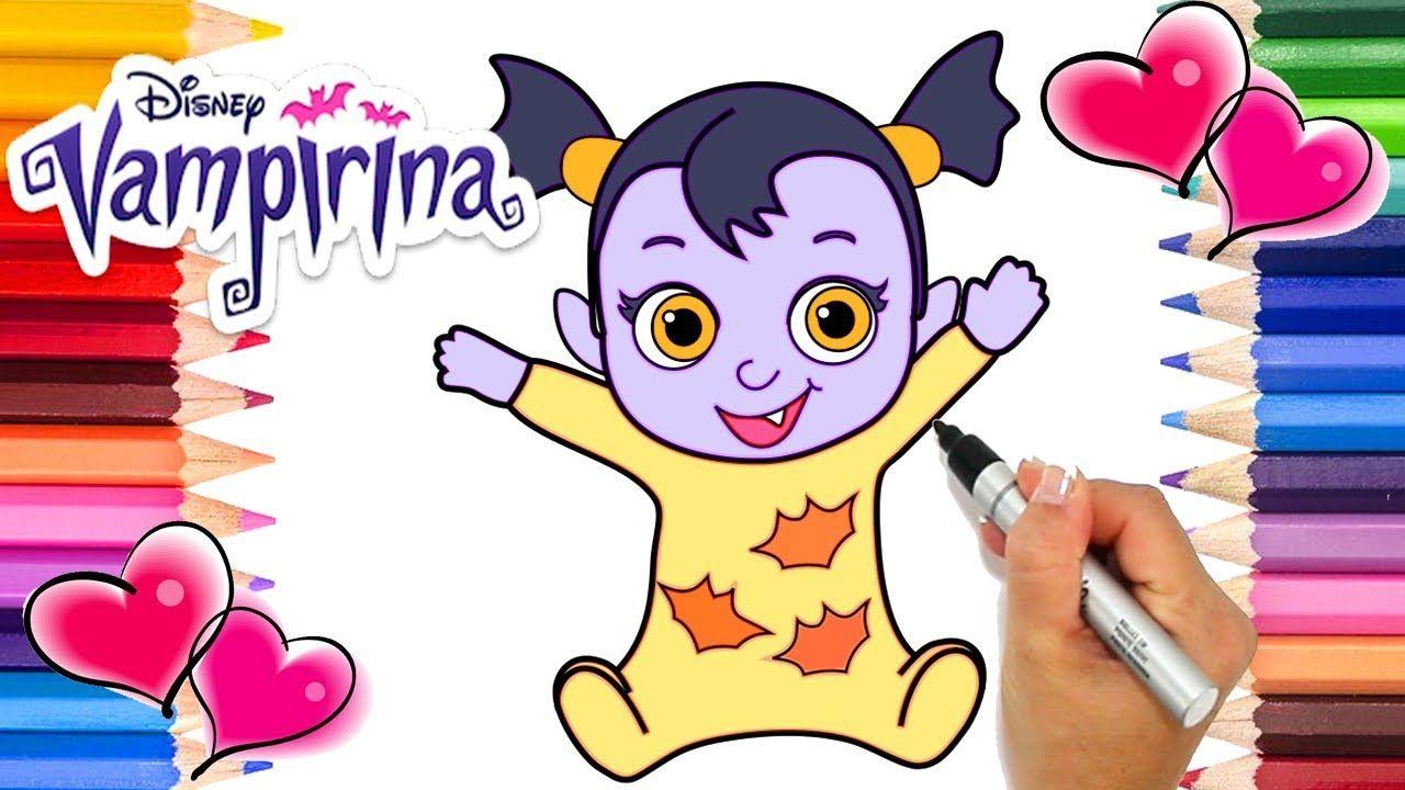 Baby Nosy Vampirina Coloring Page Vampirina Coloring Book Vampirina Coloring Pages Coloring Books Free Coloring Pages
