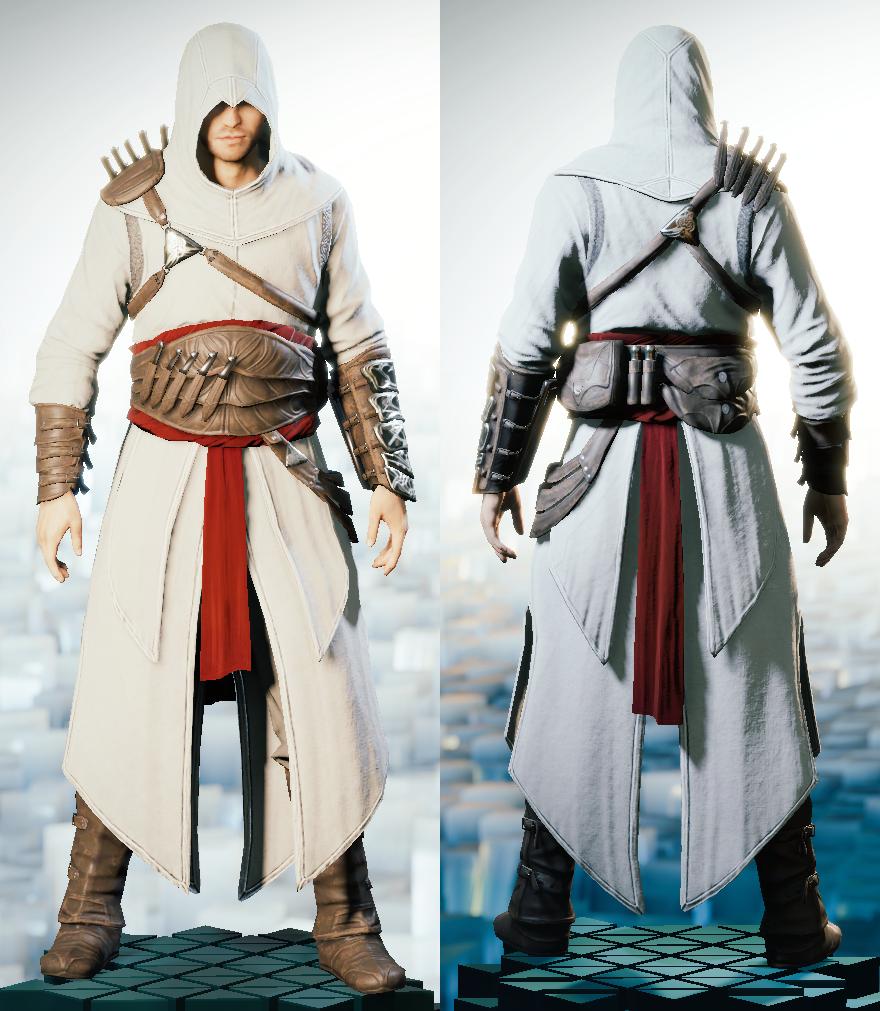 Altair Ibn La Ahad S Robes Assassin S Creed Assassins Creed