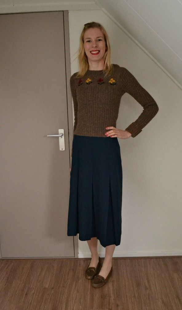 Me made skirt and jumper #mmmay16