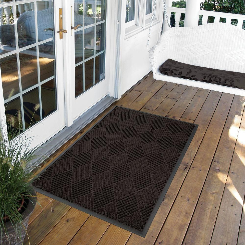 NoTrax Opus Charcoal 36 in. x 48 in. RubberBacked