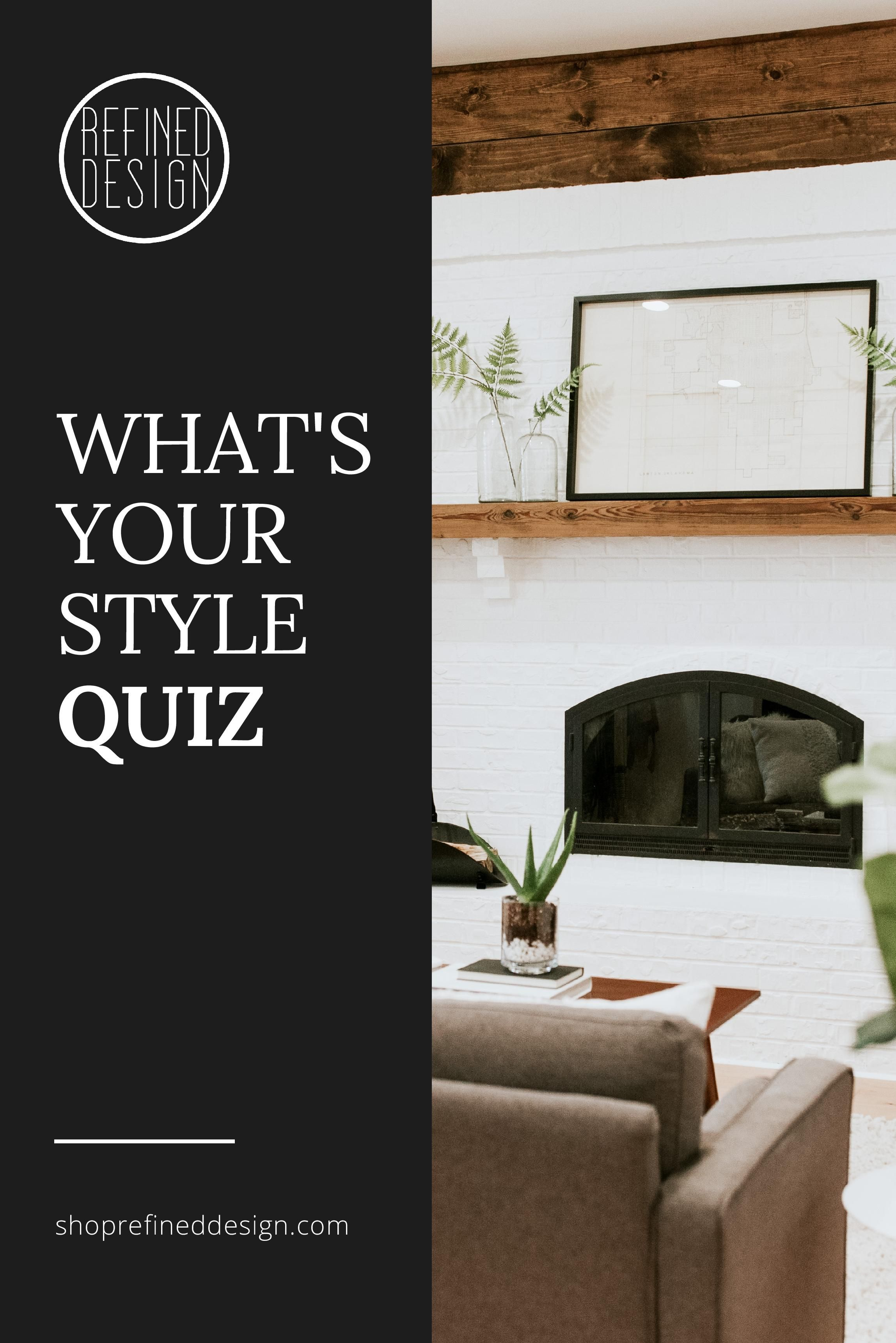 What is your home decorating style quiz