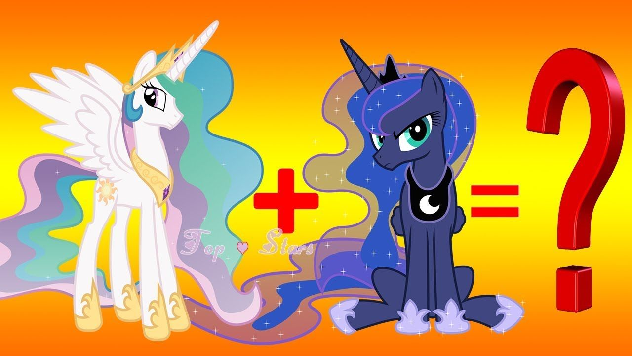 my little pony princess luna fusion color  mlp fusion