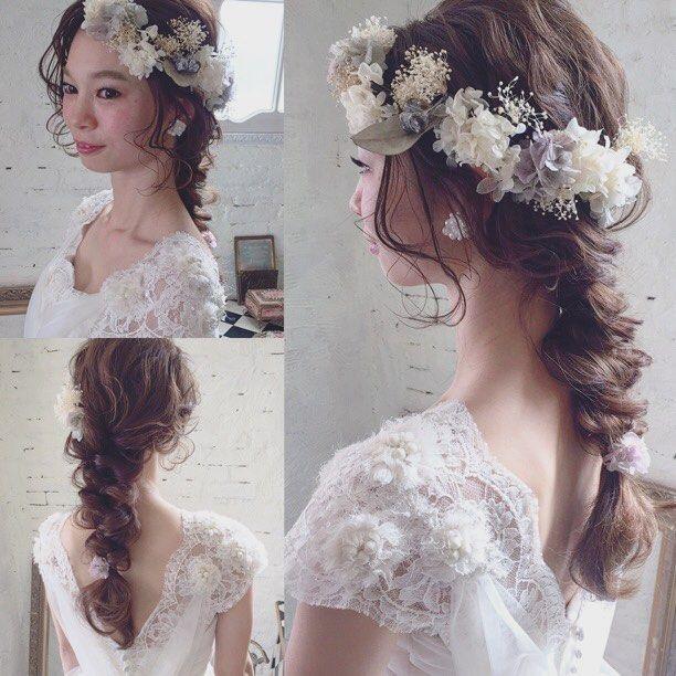 af5e810dca40b まずはスタイル決めから♪流行の《ウェディングヘア》で素敵花嫁になろう ...