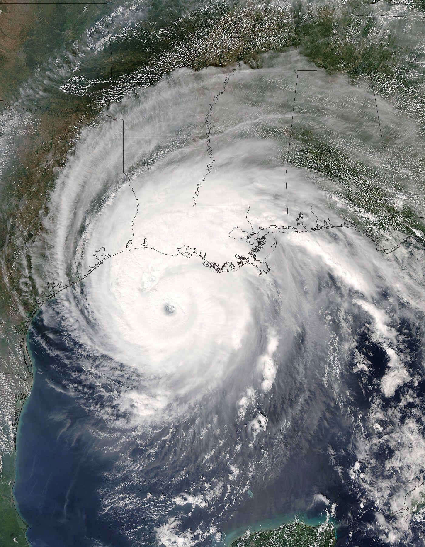 Hurricane Rita 2005 Spirals In Nature Nature Hurricane