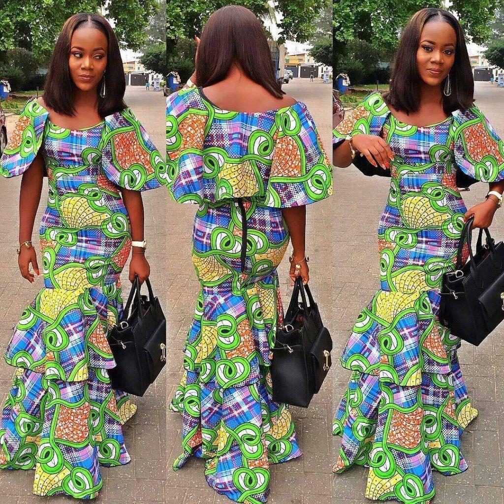 pingl par justine edith sur mode africaine pinterest robe en pagne africain robe en pagne. Black Bedroom Furniture Sets. Home Design Ideas