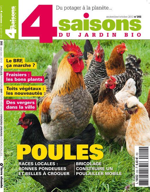 Les 4 Saisons Du Jardin Bio N 202 Septembre Octobre 2013