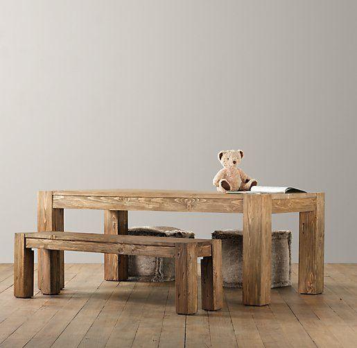 Vintage Parsons Play Table | Playroom | Restoration Hardware Baby U0026 Child