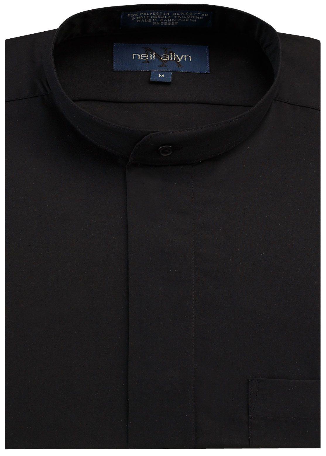 Black Mandarin Tuxedo Shirt with Fly Front | gimmee | Pinterest ...