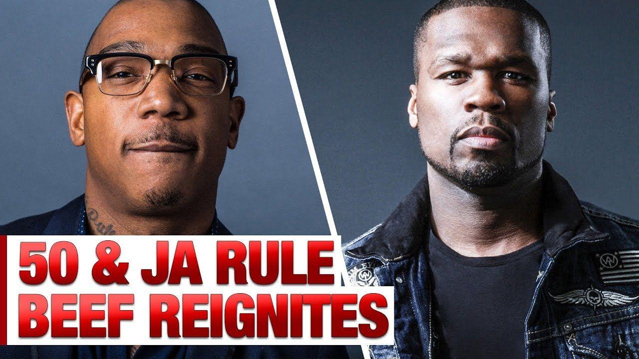 50 Cent Ja Rule S Beef Gets Reignited Ja Rule Urban Music Tv