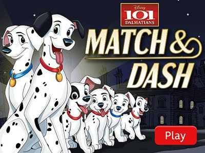 Pin By Lupin Stone On Online Games 101 Dalmatians Dalmatian
