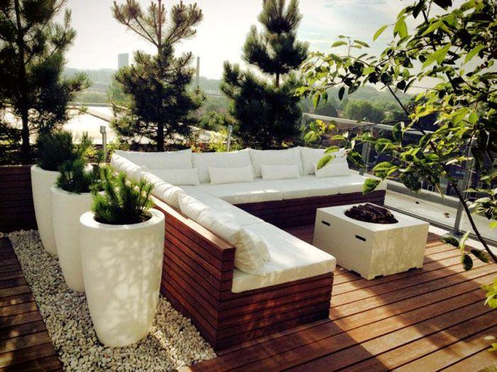 Dachterrasse Gestalten Schöne Aussichten Deko Ideen Gartenmoebel Kreative  Garten Ideen 23