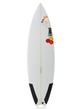 A picture of the Channel Islands New Flyer 6'2 Surfboard - NF-337542 in Poly/Sand/Color