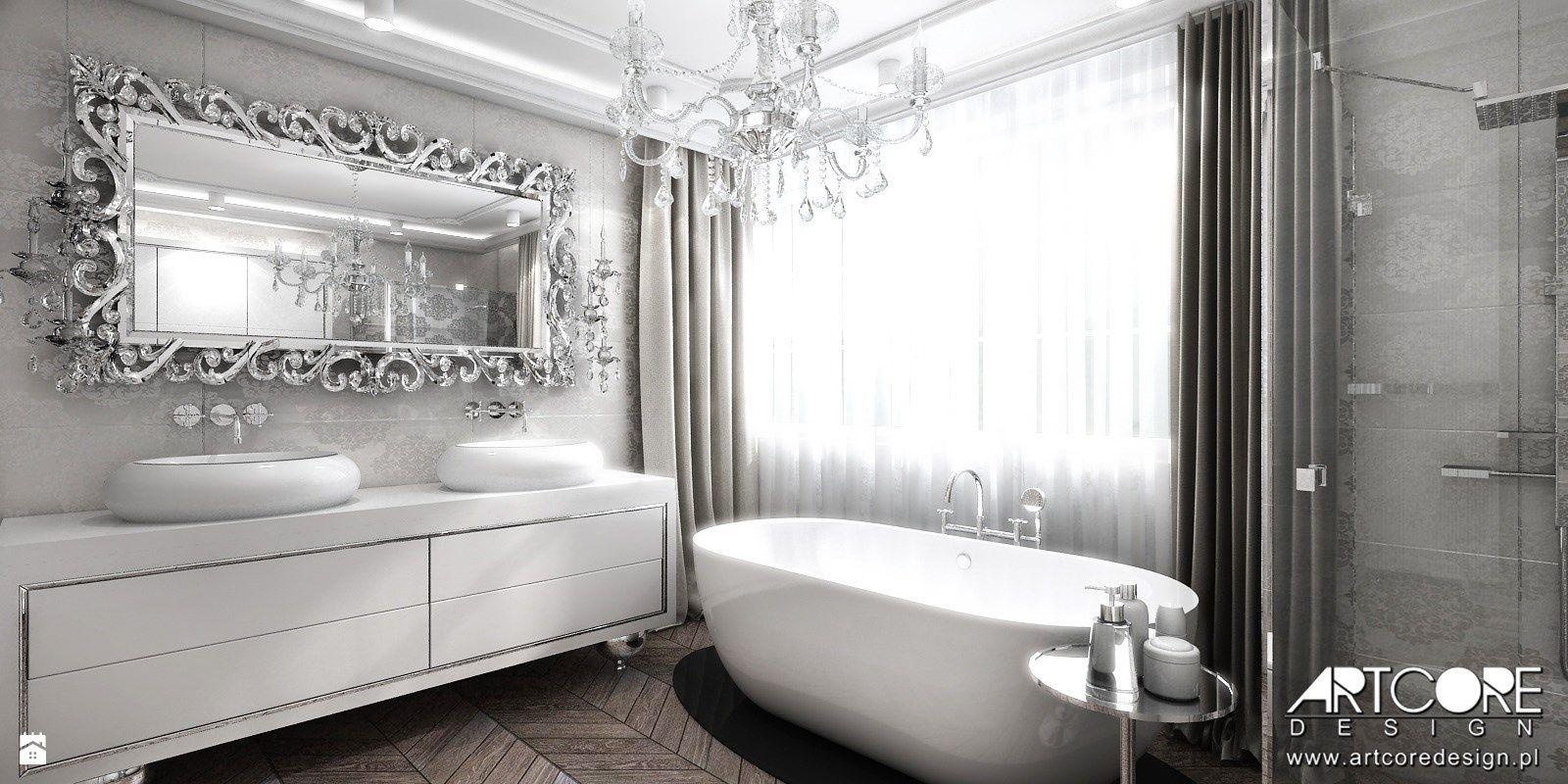 Wanna Wolnostojąca W łazience Glamou Zdjęcie Od Artcore