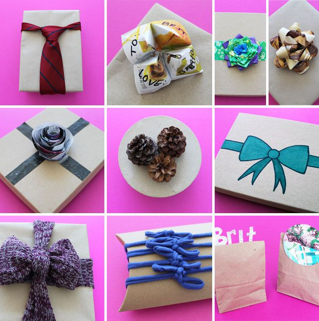 Put a Bow On It: 10 Unconventional Gift Toppers   Gift bow, Gift ...