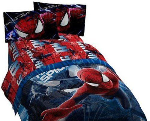 Marvel Spiderman 2 Slash 4 Piece Full Sheet Set * Want Additional Info?  Click On The Image.
