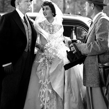 Wedding Dresses And The Silver Screen, Movies, Elizabeth Taylor, Father Of  The Bride 1950