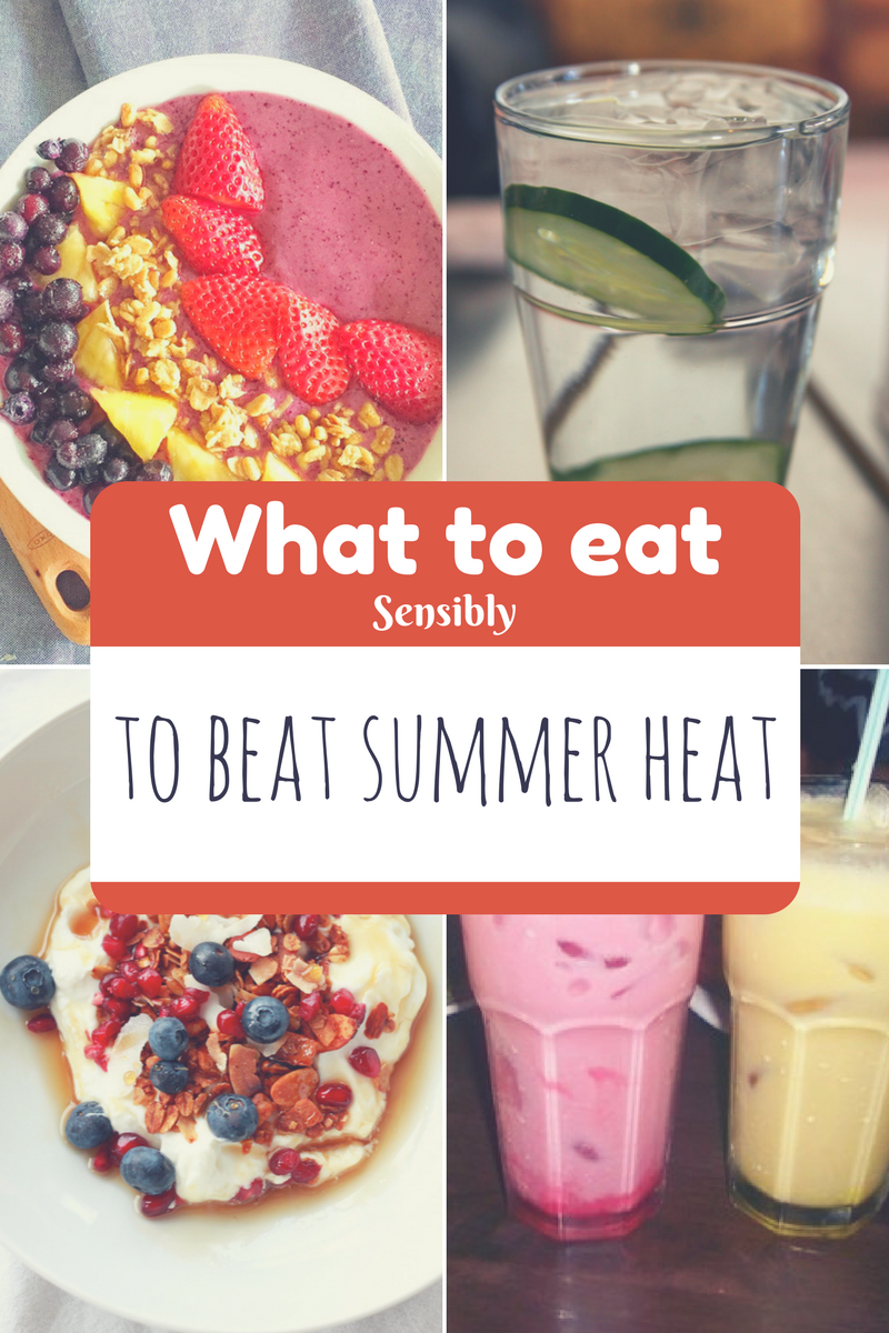What to eat in the heat to cool