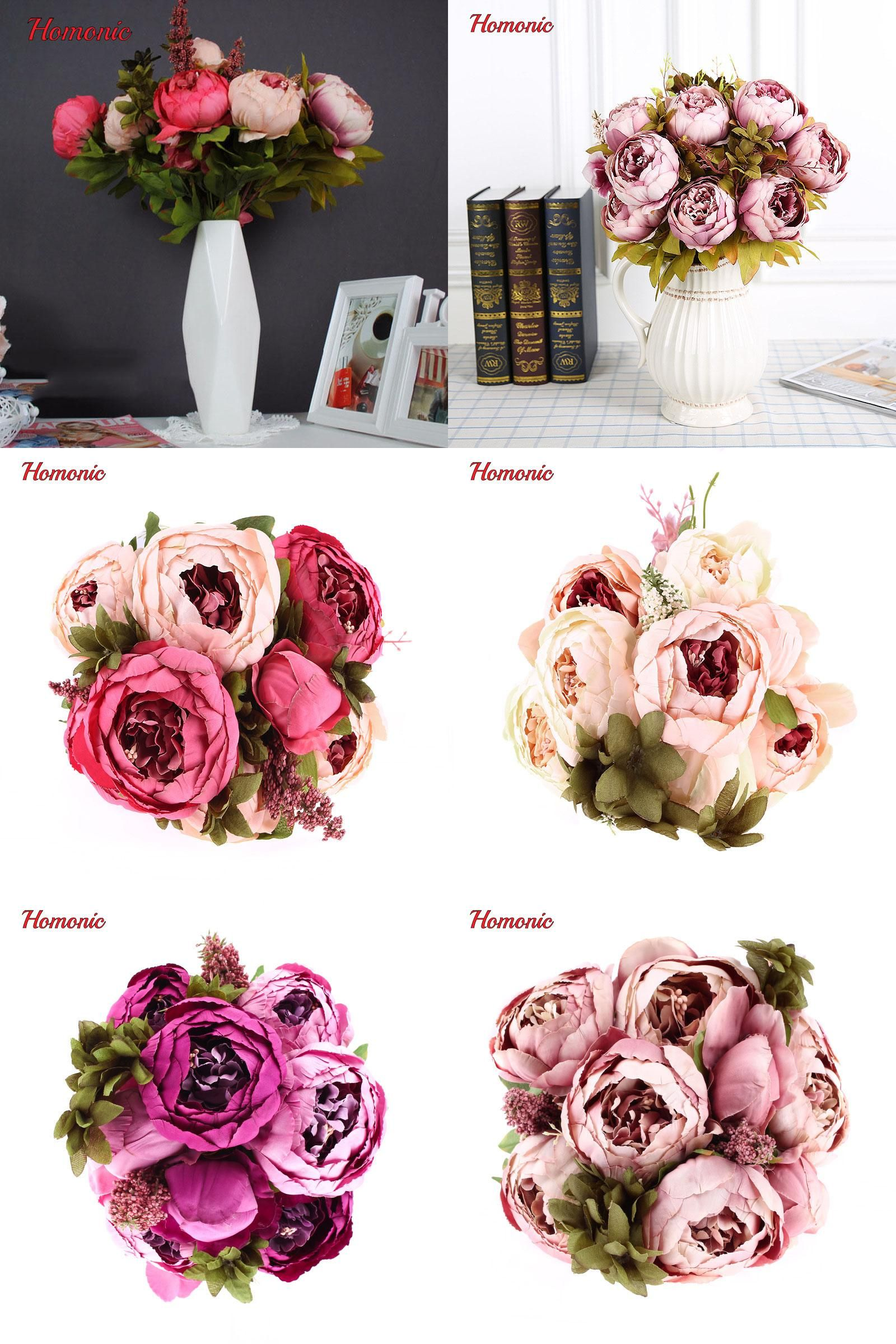 Visit To Buy Artificial Artificial Flowers Peony Silk Peony Flowers