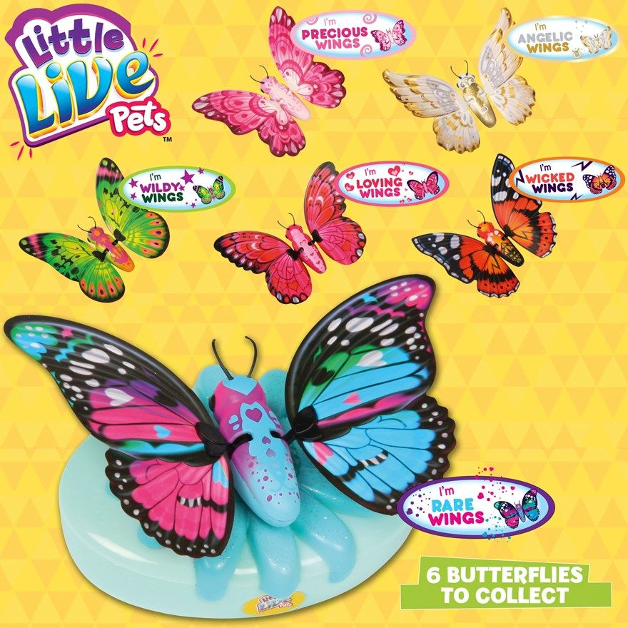 Little Love Pets Butterfly Starter Set Brinquedos