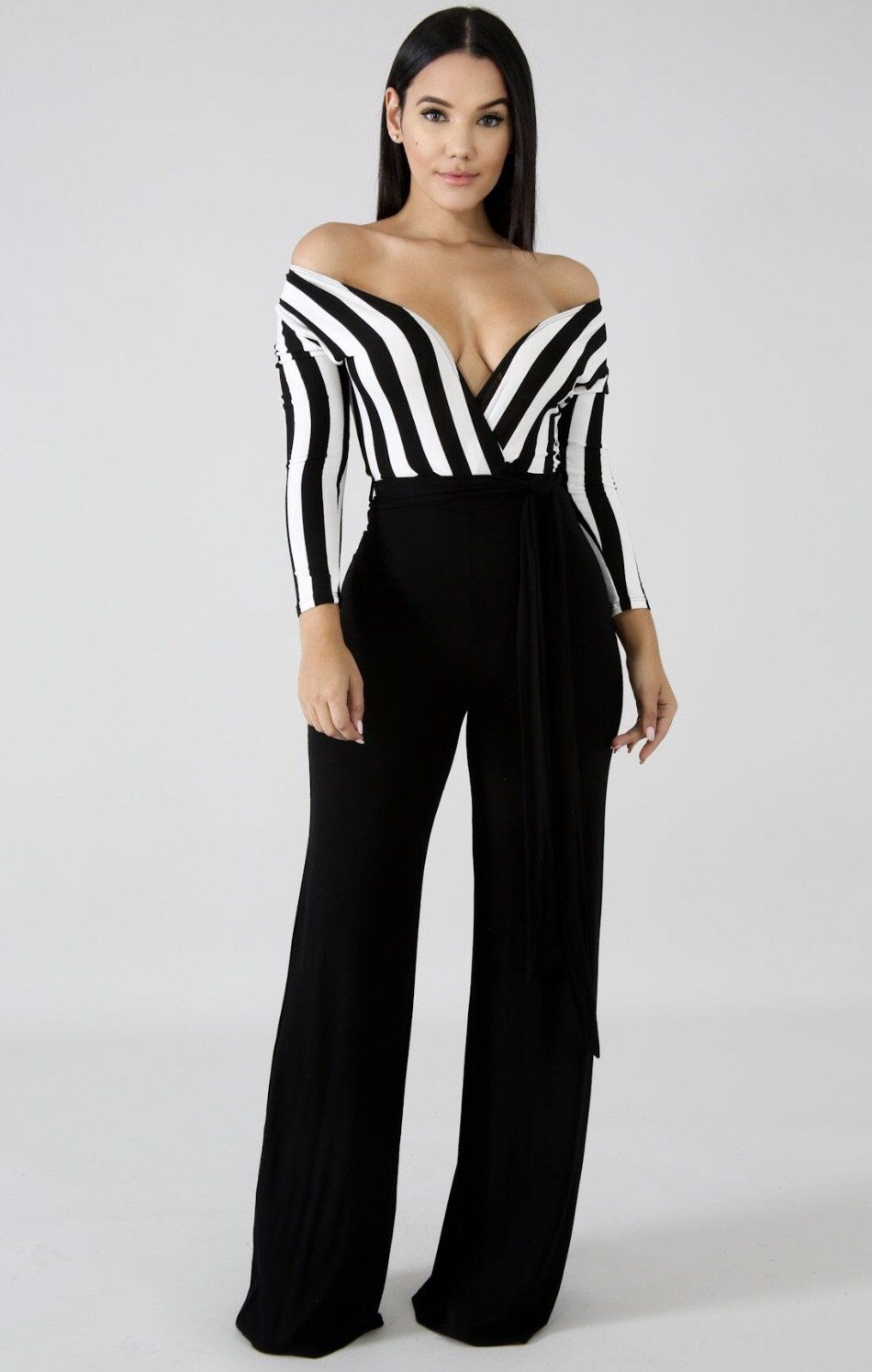 d59f9f67d5d4 She Means Business Palazzo Jumpsuit in 2019