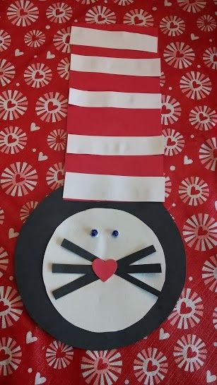 Cat In The Hat Craft For Toddlers Seuss Craft Simple Toddler