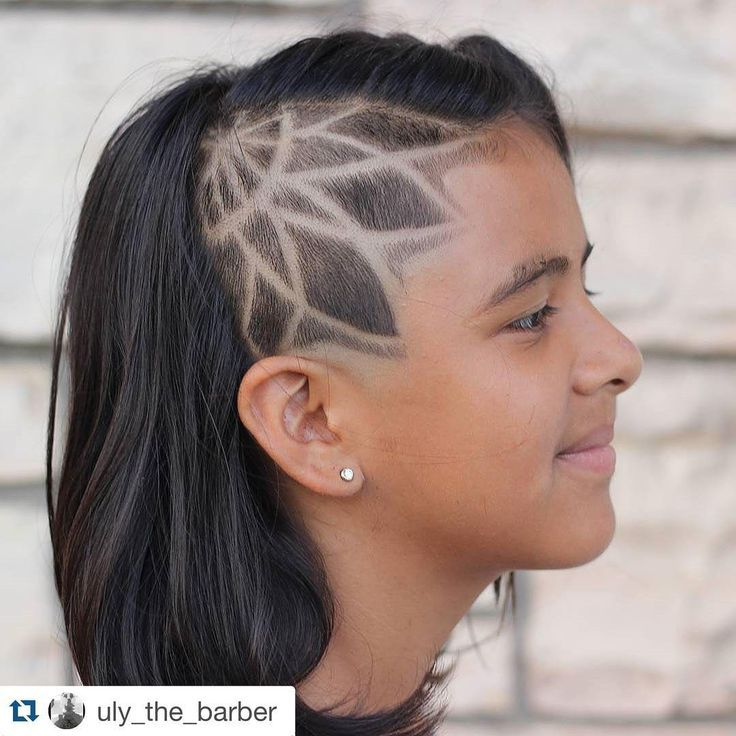Sunflower Shaved Side Of Girls Google Search Side Shave Design Shave Designs Shaved Hair Designs