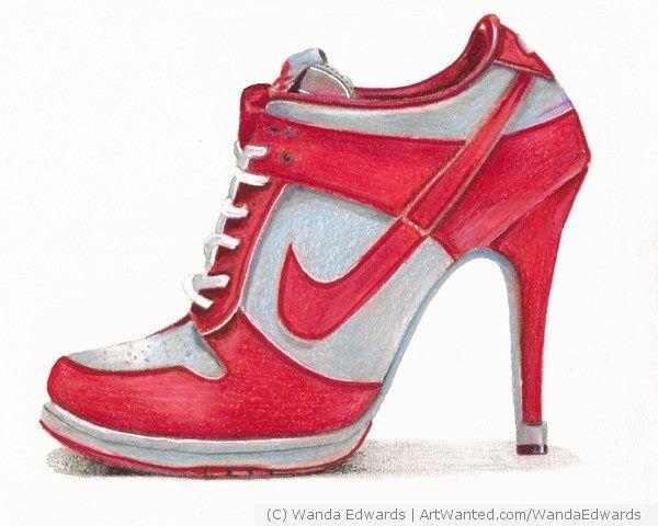 76181aad0a5 Hi Heel Sneakers