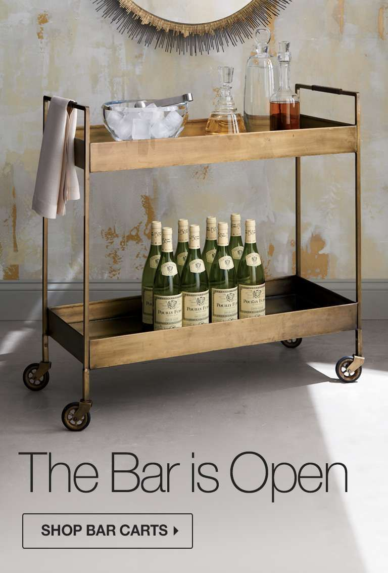 The Bar is Open. Shop Now.