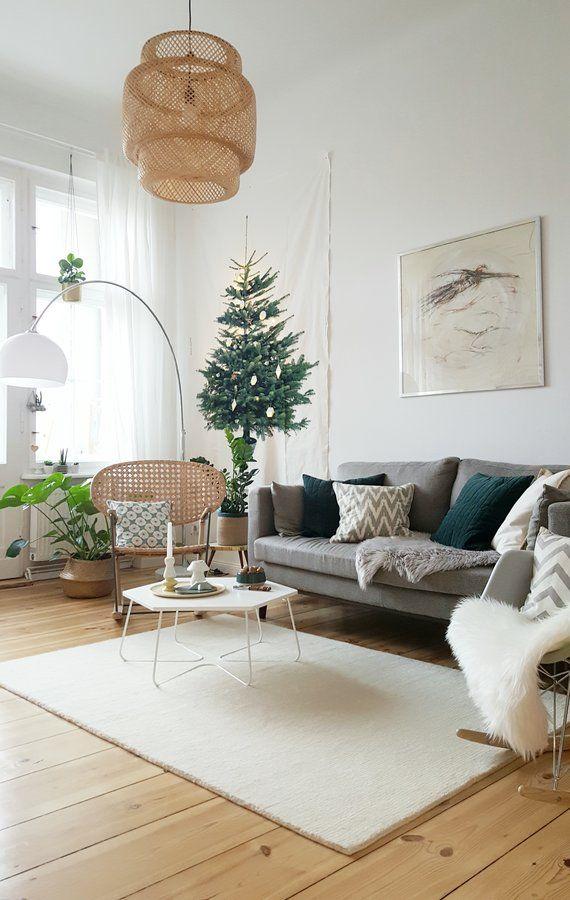 Fake winter weihnachtszeit pinterest wohnzimmer - Weihnachten wohnzimmer ...