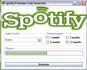 Free Spotify Premium code generator hack tool | Life Hacks