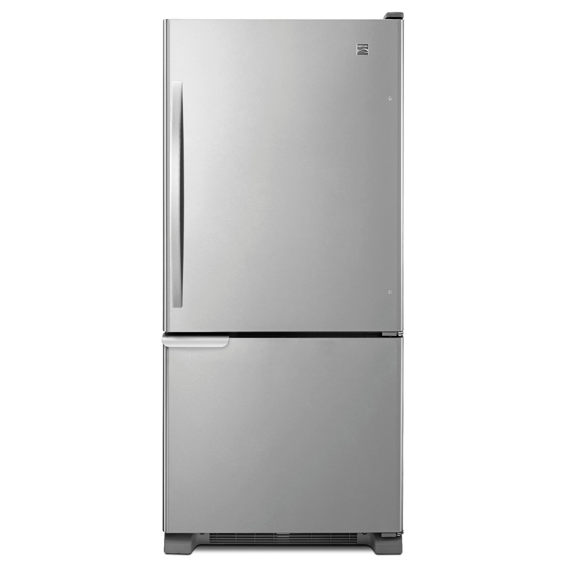 Kenmore 69313 19 cu. ft. Bottom-Freezer Refrigerator - Stainless ...