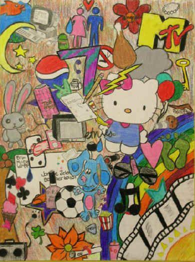 Identity Art Project Middle School
