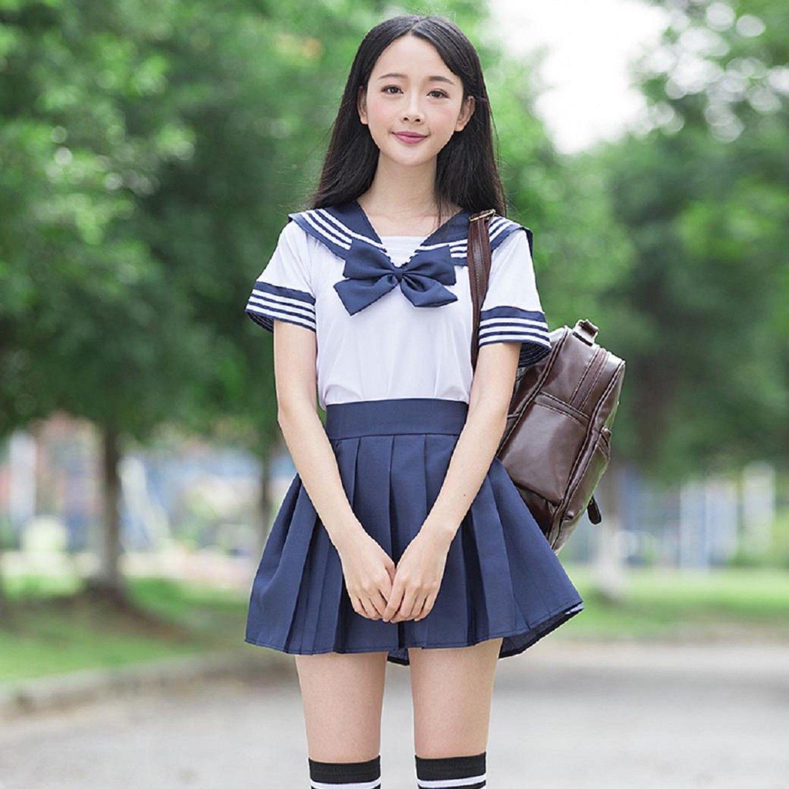 Japan school girls 1