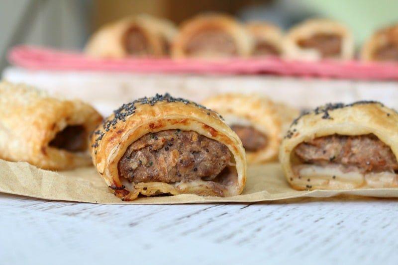 Classic Beef Sausage Rolls #beefsausage