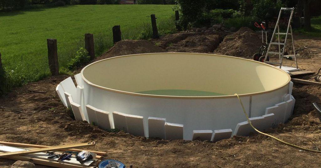 Pool selber aufbauen Garten pool selber bauen, Garten