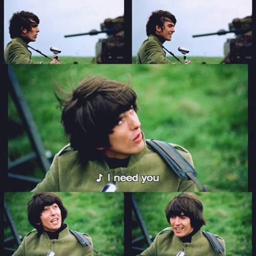 The Beatles Polska: Filmowanie Help! - I Need You