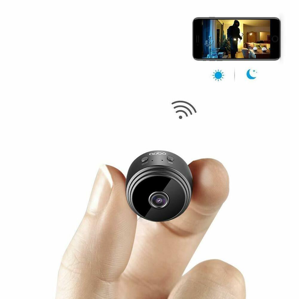 Mini camara espia seguridad oculta wifi grabador oculto Detector movimiento