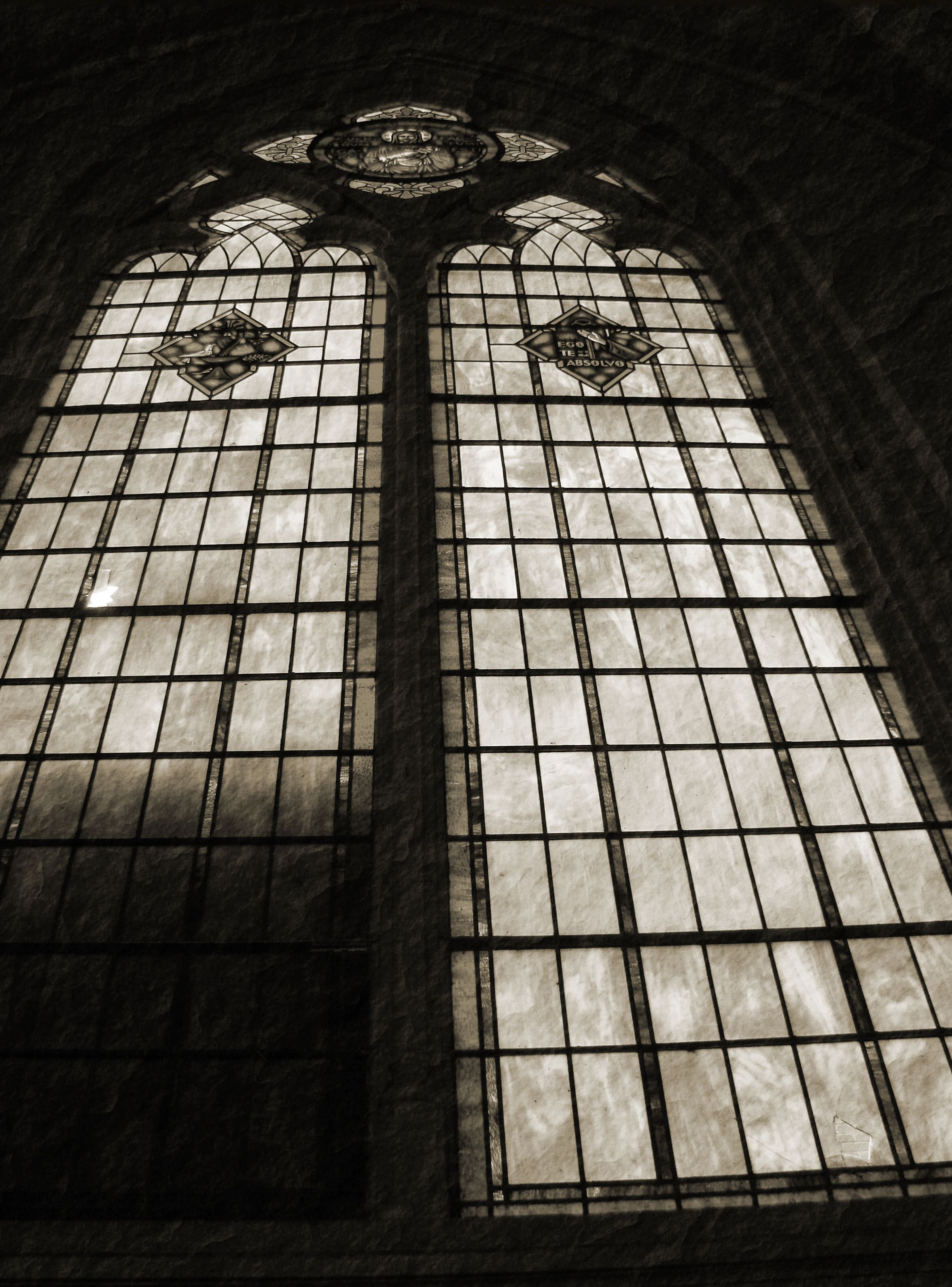 Church Window - St. Nazian, WI