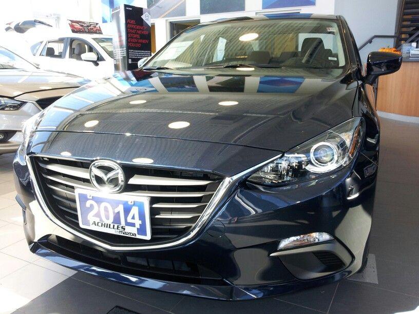2014 Mazda3 Sedan in Deep Crystal Blue Mica Mazda 3