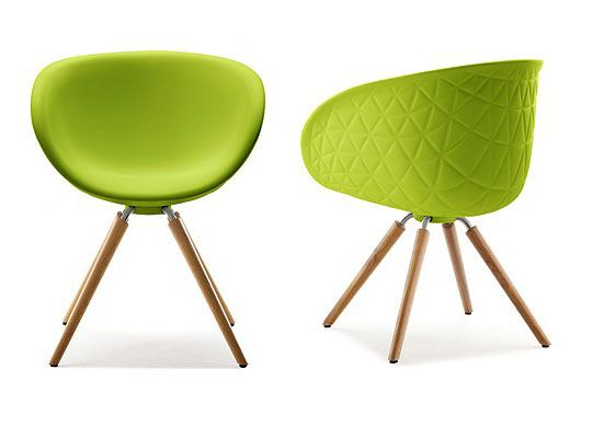Green 905 Structure Oak Wood Chair From Tonon Chair Kitchen And Dining With Style Walnut Chair Tropical Interior Chair
