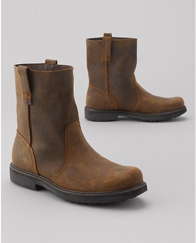5dcd1ed7602 Wolverine® Heritage Pull-On Boots | Eddie Bauer - they look better ...