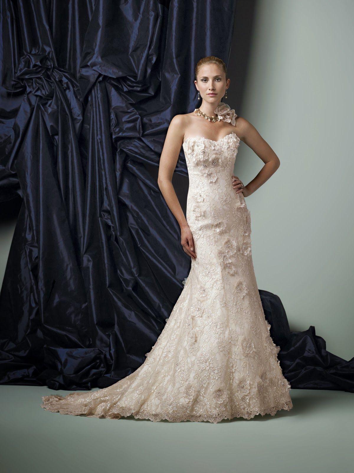 Vestido de novia corte sirena | bodatotal.com | wedding ideas ...