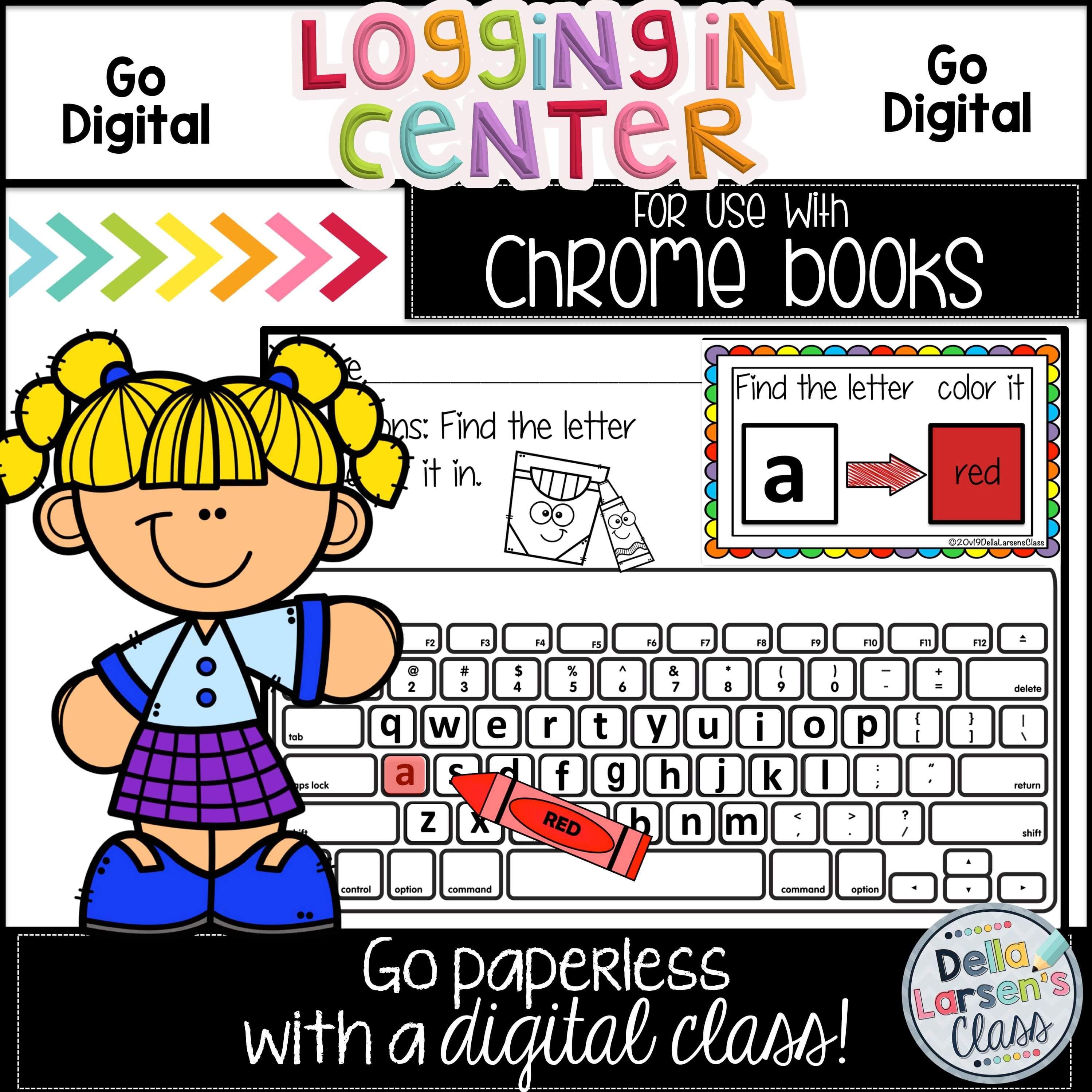 Tips for Logging Kindergarten Students onto a Chromebook