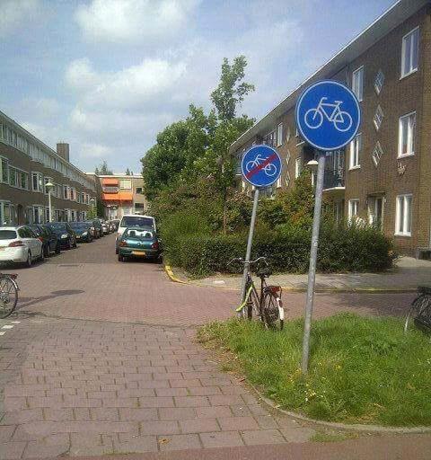 Kortste fietspad ter wereld te vinden in Amsterdam