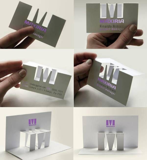10 Most Innovative Business Card Designs For Inspiration Printrunner Blog Business Card Design Creative Business Card Design Business Cards Creative