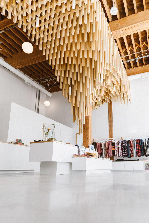 Scott Snyder Photography Banks Journal Flagship Store Ceiling Decor High Ceiling Decorating Interior Design Inspiration