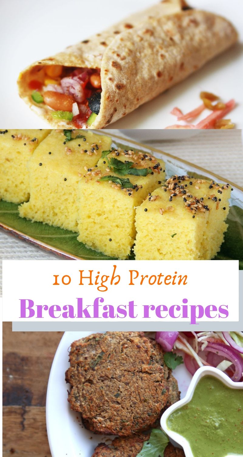 10 High Protein Breakfast Recipes High protein
